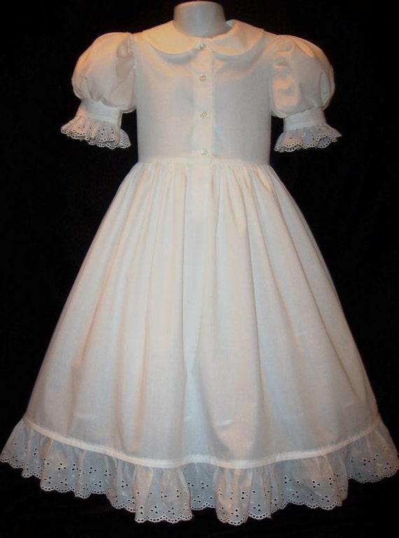 Boutique Lace Cuff PETTICOAT Dress PETTIDRESS Custom Sz