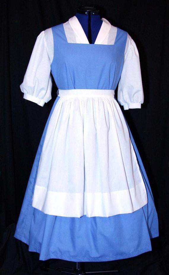 Adult Blue Belle Blue Provincial Costume Custom Sz