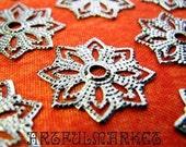 Snowflake Filigree, Snowflake...24 on Etsy (FL-SM-10285-GN)