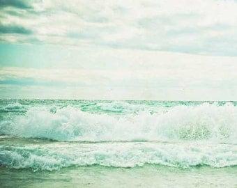 beach photography . summer sea shore . nature photograph . photography . decor . nursery decor . ocean print . Beach Dreams2 . dorm decor