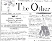 WIND theme - The Widow - and R. C. Gorman - and more in March issue 2009 - The Other Herald - Heralding Art and Writing