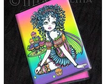 Rainbow Fairy Art ID Business FAE Card Holder Buttercup