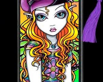 Sunny Adoralicious Candy Rainbow Flower Child Fairy BOOKMARK