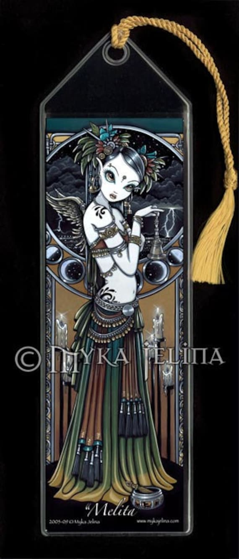 Melita Tribal Fusion Belly Dancer Angel BOOKMARK