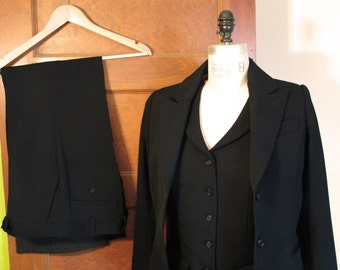 Women's 3-Piece Suits--Custom Made, Muslin Fit