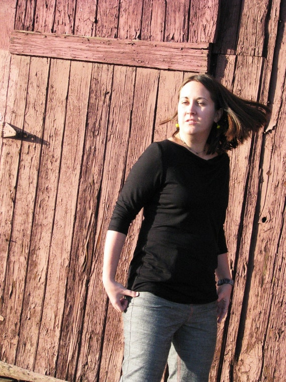 Cowl Neck Top--In Your Size