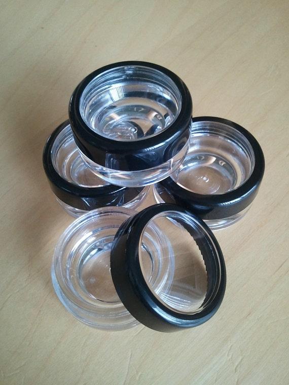 100 Lip Balm Lip Gloss Eye Shadow Solid Perfume Containers Jars