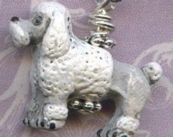 Pretty Poodles Sterling Silver Earrings