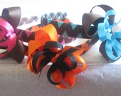 Reserved for knkeeton--Set of  3 Convertible Headbands with Bows
