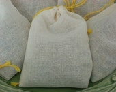 Three Herbal Moth Repellent Sachets Blend of Organic Herbs, Rosemary, Cloves, Thyme, Cinnamon