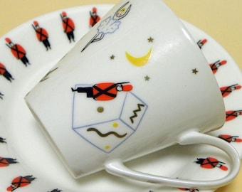 Fairytale Cup and Saucer Set - The Nutcracker