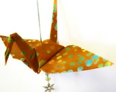 Fabric Peace Crane Origami Ornament Wonderful Gift for any Occasion