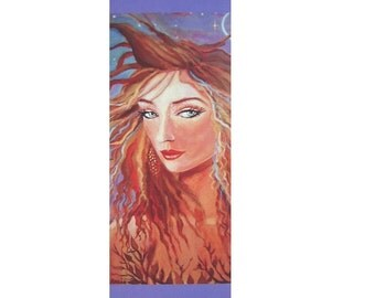 Faery Bookmark - Twilight Eclipse - from Original Painting by Susan Rodio