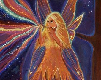 The Music Of The Fairies - Print 9 x 14