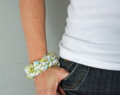 Fabric bracelet tutorial pdf file