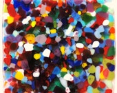 """Anything Goes Custom Glass Tiles for Walls or Counters, Multicolored, 2"""", 3"""", 4"""", and more"""