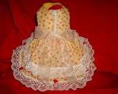 SWEET AS SUGAR VICTORIAN DOG DRESS PET CLOTHES CUSTOM FIT