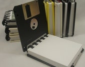 Floppy Disk Note Pad - Recycled 3.5 Diskettes GREAT STOCKING STUFFER
