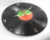 LED ZEPPELIN IV Recycled Vinyl Record Wall Clock