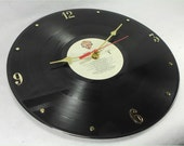 ZZ TOP Deguello - Recycled Record Clock