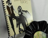 FLEETWOOD MAC - Rumours - Recycled Record Chip Bowl and Journal Gift Set