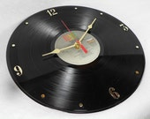 DAVID BOWIE Let's Dance - Recycled Vinyl Record Wall Clock