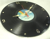 TOM PETTY Recycled Vinyl Record Wall Clock - Pack Up The Plantation LIVE