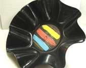 POLICE Synchronicity - Recycled Record Chip Bowl