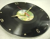 GRATEFUL DEAD Europe '72 - Recycled Record Clock