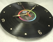 GLEN CAMPBELL Wichita Lineman - Recycled Vinyl Record  Wall Clock