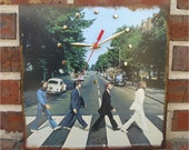 The BEATLES Abbey Road - Record Album Cover Art Wall Clock