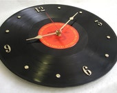 BRUCE SPRINGSTEEN Born To Run -  Recycled Record Clock
