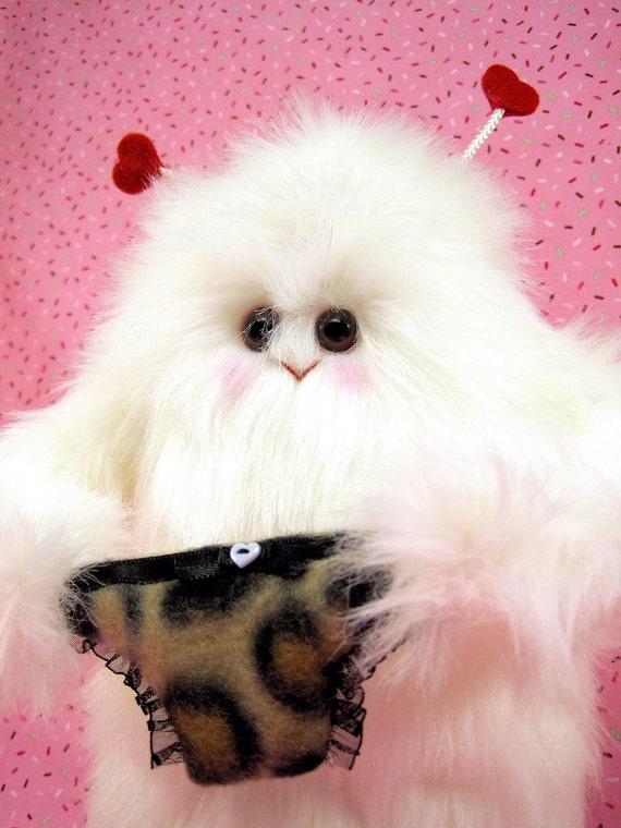 Love Monger ....Sweet Little Plush Monster