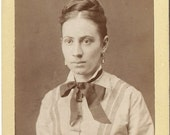Sale - Great CABINET PHOTO - a lovely Young Woman CDV