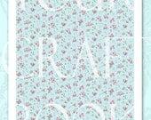 Vintage Rose Pretty Papers - Collage Sheet - Digital Download - Scrapbooking - U PRINT - Vintage Wallpaper 1PAPER