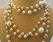 Coco Pearl Necklace -- GOLD