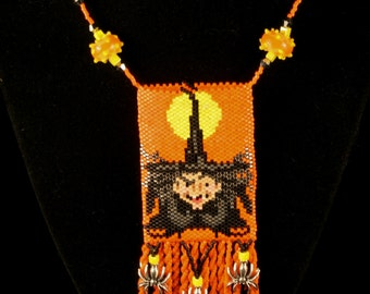 Witches Full Moon Amulet Bag