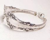 Berkshire Antique Spoon Bracelet Silverware Jewelry