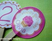 Cupcake Cupcake Toppers