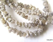 15inches Sparkling SILVER/WHITE Druzy DIAMOND Drilled Chips  -  2.5 to 4mm   (ref.9712)