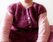 Hearts Knitting Pattern PDF (size 3, 4, 6 and 8 years)