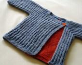 Angle Knitting Pattern PDF (size 0-6, 6-12 and 12-24 months)