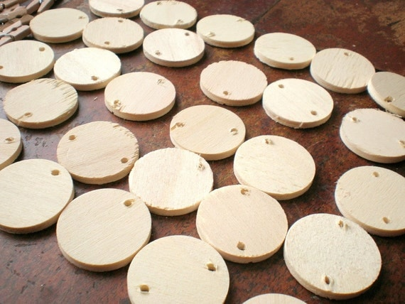Wood discs wooden circles for crafts craft supplies for Wood circles for crafts