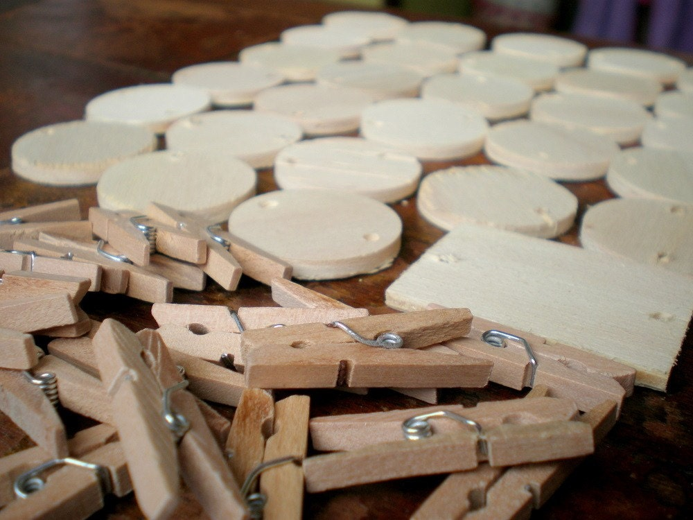 Wood discs wooden circles for crafts craft supplies wood for Wood craft supply stores
