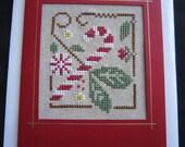 Hand Made Cross Stitch Card