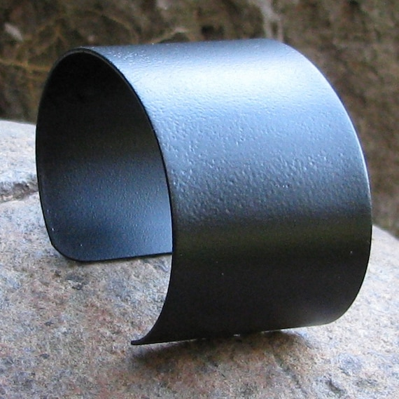Cuff Bracelet Blanks Black Bangel Jewelry Supplies 1 1/2 inches wide
