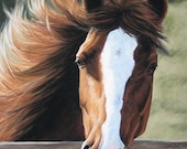 Morning Breeze - Print of original pastel painting