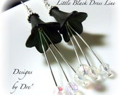 Lil Black Dress Line by DreHaray Earrings BHV