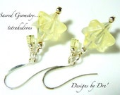 Merkaba Pineapple Quartz Earrings by DreHaray BHV