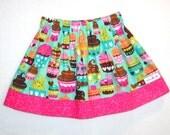 Clearance Sale Cupcake Twirl Skirts ... Toddler .. Girls .. 3T  Pixiilane